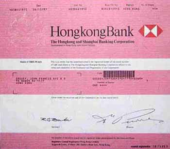 Hongkong and Shanghai Banking Corporation